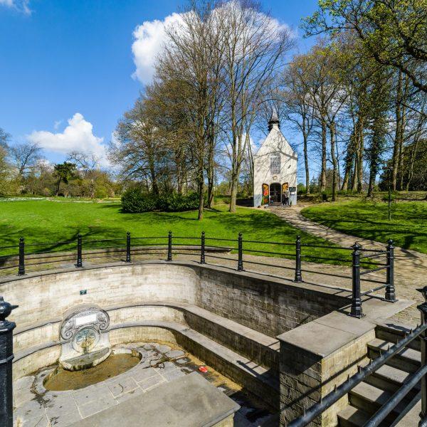 chapelle Sainte-Anne Sint-Annakapel fontaine Sainte-Anne Sint-Anna fontein © Visit Brussels - Jean-Paul Remy - 2017