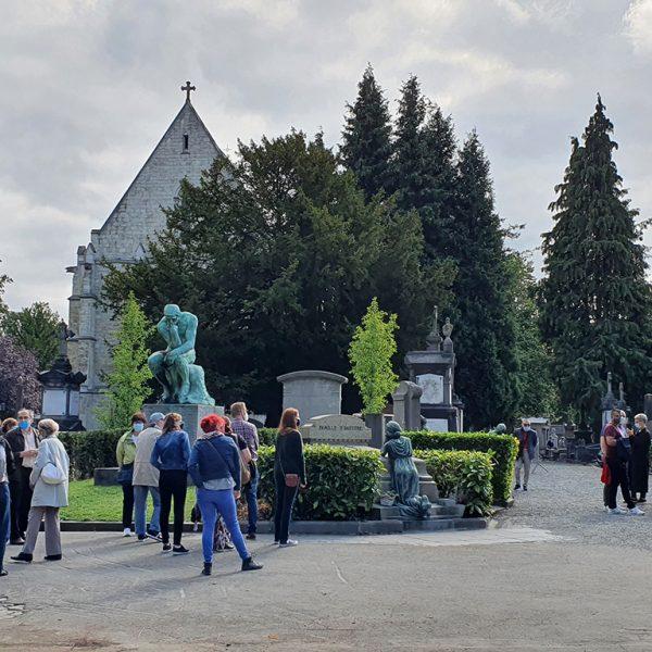 visite cimetière de Laeken